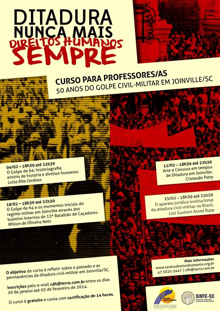 cartaz_cdh_50anosgolpe